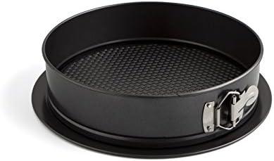 Negro Quid Sweet Grey Molde de horno desmontable redondo 20 cm