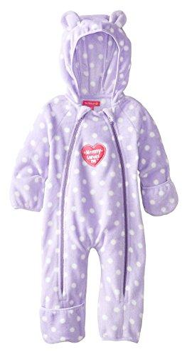 Pink Platinum Baby Girls Infant Polka Dots Light Weight Ear Pram