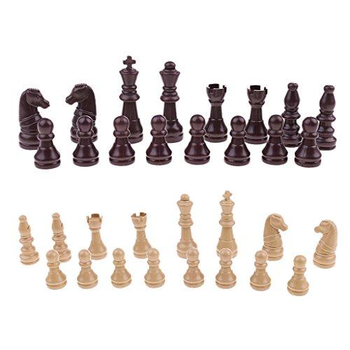 non-brand Piezas de Ajedrez Chess Pieces Chessman Decoración de Hogar Diseño y Moda Juguetes