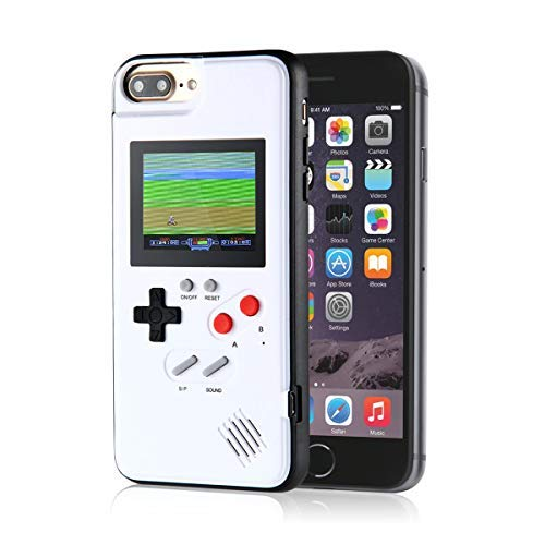 Gameboy Case for IPhone, Aolvo Retro 3D Protective Cover Case with 36 Small Game, Full Color Display, Shockproof Video Game Case for IPhone X/XS/MAX/XR, IPhone8/8 Plus, IPhone 7/7 Plus, IPhone 6/6Plus