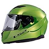 LS2 Helmets Unisex Adult Full Face Helmet Fallout Green XX-Large