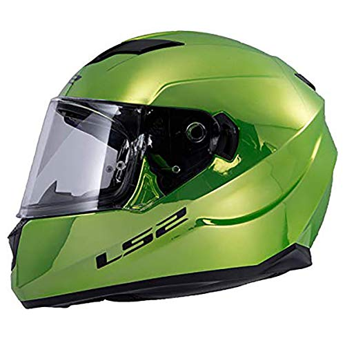 LS2 Helmets Unisex Adult Full Face Helmet Fallout Green Large