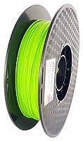AIO Robotics AIOBRIGHTGREEN PLA 3D Printer Filament, 0.5 kg Spool, Dimensional Accuracy +/- 0.02 mm, 1.75 mm, Bright Green from AIO Robotics