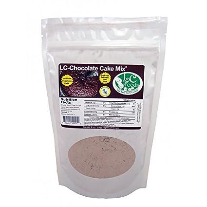Low Carb Pastel de chocolate Mix – Lc Alimentos – All ...
