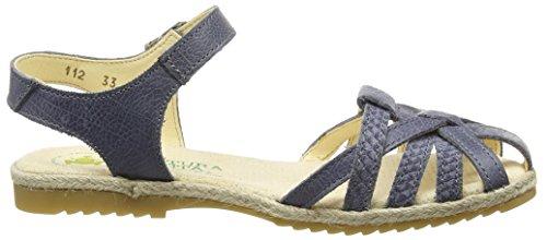 El Naturalista Mädchen Samoa Sandalen Blau (Crespuculo)