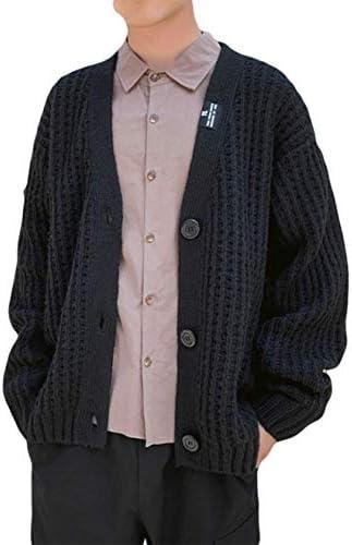 カーディガン メンズ セーター 秋冬 厚手 冬物 アウトドアウェア ニット 長袖 かっこいい 暖かい 防寒 カジュアル ファション おしゃれ シンプル