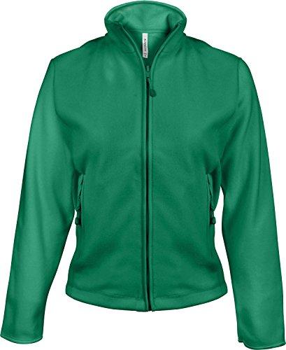 KBK907 Maureen Damen Fleece Jacke, Farbe:KELLY GREEN;Größen:L