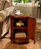 Cheap Birch Drum Table. This Decorative Accent table Features a Storage Area with Two Shelves and Antique Handle. With it's wine barrel table Shape It gives Maximum Room for your Stored Items Like Other End Tables and Coffee Tables, It Looks great next to Living Room Furniture Like Sofas. But Also Works well with Your Other Home Furnishings Like Next to Beds Or Wall Mounted Mirrors.