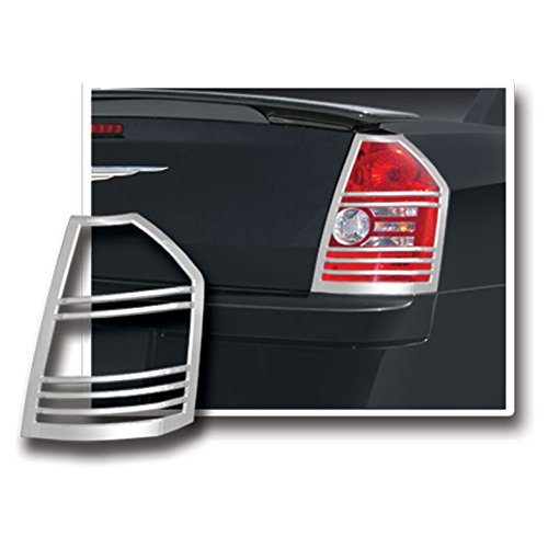 Upgrade Your Auto Premium FX Chrome Tail Light Bezels for 2008-2010 Chrysler 300/300C ()