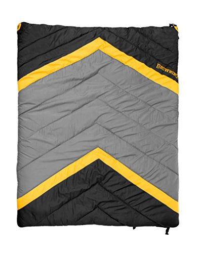 Browning Mummy Sleeping Bag (Browning Camping Side-by-Side 0 Degree Double Sleeping Bag)