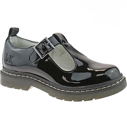 Width Shoes Kelly UK F 1 T LK8288 Frankie Black Bar 33 School DB01 Lelli Patent PdZzgqqw