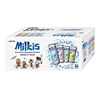 Milkis Carbonated Drink 4 Variety Flavors, Apple, Melon, Strawberry & Original - 24 pack