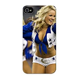 Freshmilk Case Cover For Iphone 5/5s - Retailer Packaging Cheerleader Nfl Football Dallas Cowboys Hd Protective Case