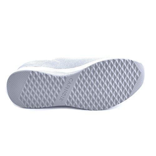 Sneakers in Bianco in Tessuto Tessuto 203 Sneakers Bianco 203 dqOnq4HS
