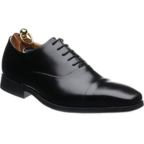 Herring  Herring Belfast, Chaussures de ville à lacets pour homme noir Black Calf