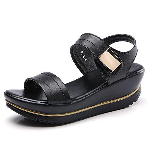 367f3eef20d YZHYXS Platform Sandals for Women Summer Fashion Wedge Walking Shoes