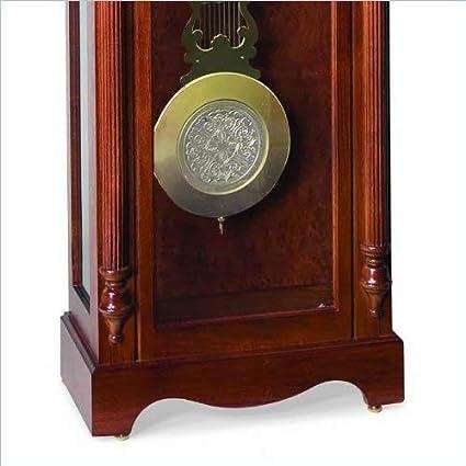 Ridgeway 2504 Lynchburg Grandfather Clock, Glen Arbor Cherry