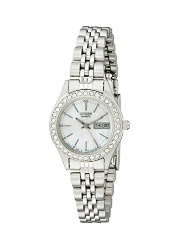 Citizen Women's Quartz Watch with Crystal Accents, EQ0530-51D
