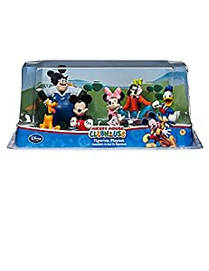 Mickey Mouse Clubhouse Figurine Playset - 6 Piece Set