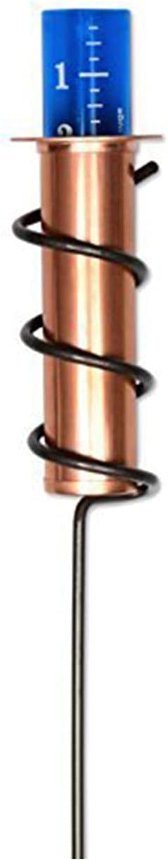 LELEBEAR Copper Rain Gauge, Rain Gages Outdoors with Stake, Accurate Floating Rain Gauge for Lawn, Garden and Landscape (1)