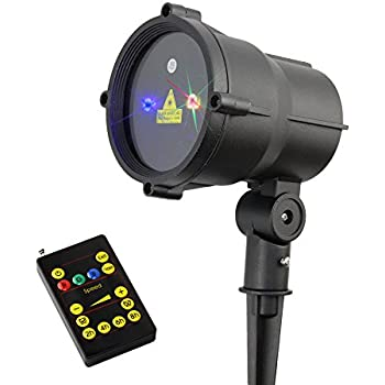 Amazon Com Poeland Garden Laser Lights Moving Firefly