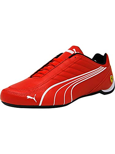 PUMA Mens Ferrari SF Future Cat Kart Driving Athletic Shoes in Rosso Red (13)