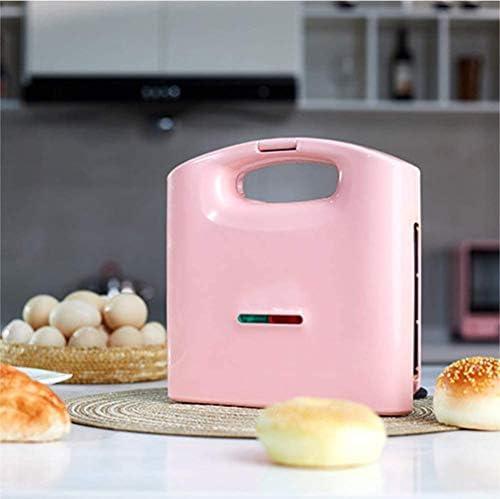 VIVICL Brotmaschine Automatische Mini Multifunktions Kochplatte und Toastmaschine mit Antihaftbeschichtung und Schneller Hitze Haushaltsfrühstück Backen Küchenwerkzeug