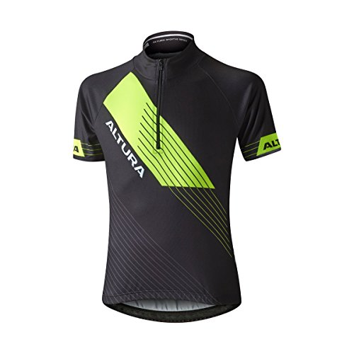 Yellow Maillot Black hi Viz Manches Courtes Altura – À 85qw41T