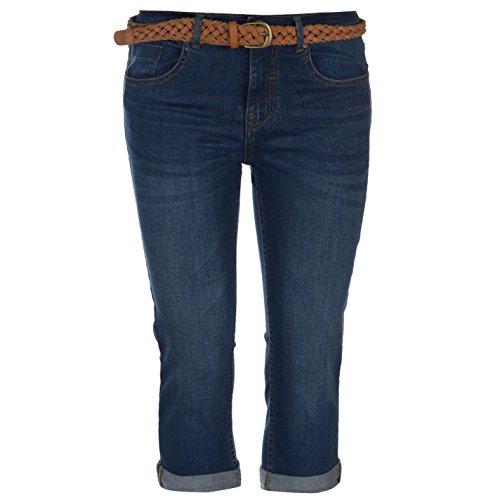 Crop Wash Belt Mid Soulcal Donna Jeans xqWnCHggcw
