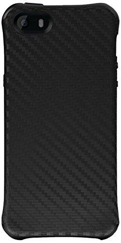 ase for iPhone 5/5s - Retail Packaging - Black Carbon Fiber/Black ()