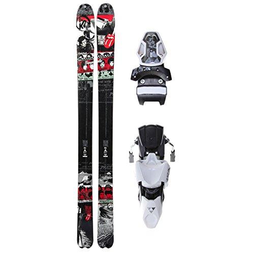 K2 Sidestash RS2 50th Rolling Stones Skis Mens 181cm + Fischer X 13 Bindings