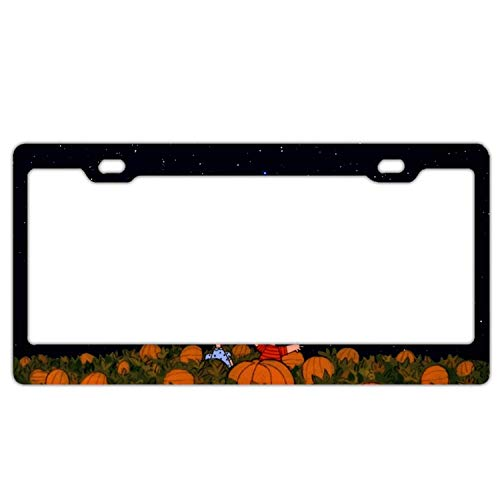 GTdgstdsc Halloween Scary Scene 12inch;inch; x 6inch;inch; Front Rear License Plate Frame Cover ()