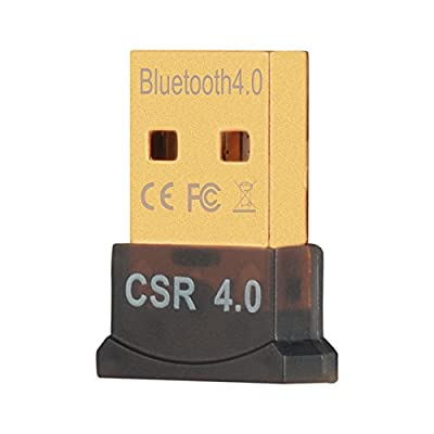 USB Bluetooth Adapter VicTal Plug and Play CRS 4.0 Micro Bluetooth Dongle Wireless Receive Transmitter Adapter for Laptop PC (Compatible with Windows 10/8.1/8/7/Vista Raspberry Pi, and Stereo Headset)