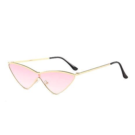 Yangjing-hl Triángulo de Ojo de Gato Gafas de Sol Moda ...