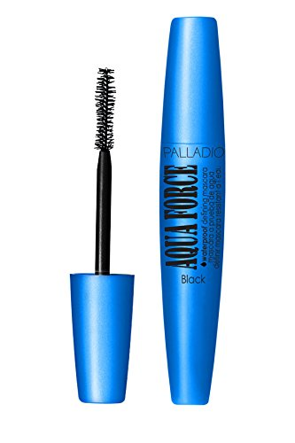 Palladio Aqua Force Waterproof Defining Mascara, Black