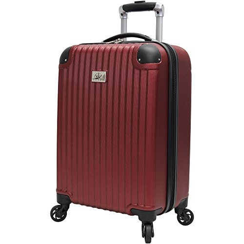 Case 21 Spinner (Verdi Luggage Carry On 20 inch ABS Hard Case Rolling Suitcase With Spinner Wheels (Color))