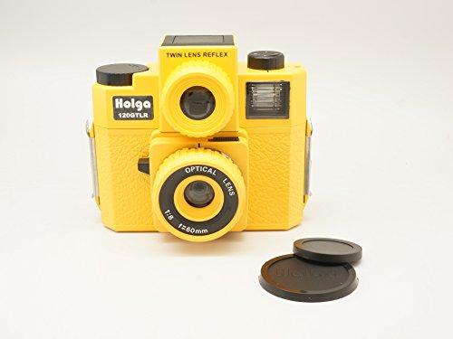 Holga 120GTLR Yellow Medium Format 120 Film Camera Twin Lens Reflex (discontinued) by Holga