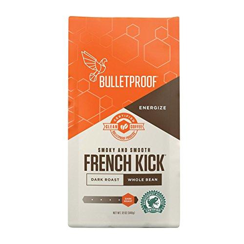 Bulletproof French Kick Dark Roast Whole Bean, 12 oz