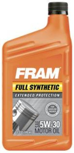 From Usa Fram 1057025 12pk Full Synthetic 5w 30 Motor