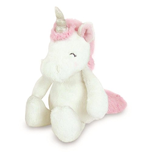 Bianchi Carters Carter's White Unicorn Beanbag Plush Baby Plush Toys