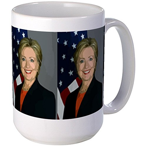 CafePress Hillary Clinton Coffee Large