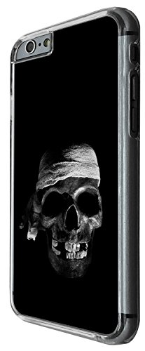 1479 - Cool Fun Trendy skeleton walking dead scary skull tattoo biker skull Design iphone 5 5S Coque Fashion Trend Case Coque Protection Cover plastique et métal - Clear
