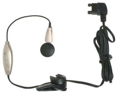 Ericsson Hands Free Earbud - Ericsson Hands-Free Earbud with Answer Button for Ericsson T68 & T300 Phones (Black)