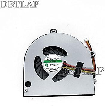 DBTLAP Ventilador de la CPU del Ordenador portátil para Acer Aspire 5742G 5741G 5252 5552G 5741 5551 5551G TravelMate 5742 5740G Ventilador Gateway NV53 NV59 Ventilador AB7905MX-EB3 NEW70