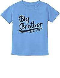 Tstars - Gift for Big Brother 2019 Toddler Kids T-Shirt