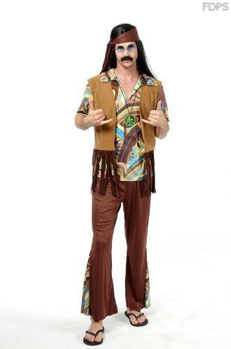 Desconocido Disfraz Traje Vestimenta de Hippie Woodstock ...