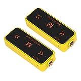 Acogedor Walkie Talkies Mini Business Walkie Talkies Two Way Radio UHF 400-470MHz,Waterproof And Dustproof(Yellow)
