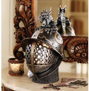 Galleon 14 Classic 40 Watts Lamp Medieval Armor British Museum