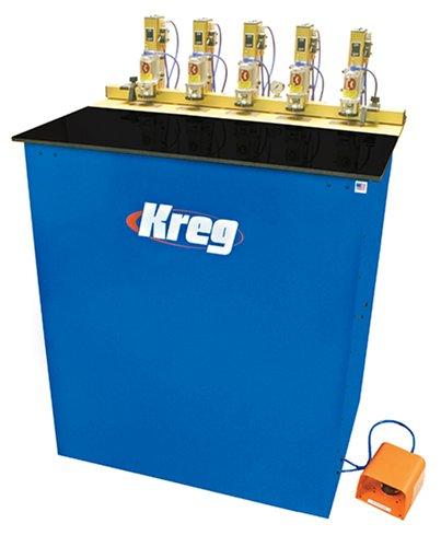 Kreg DK5100 3/4 Horsepower 5-Spindle Pneumatic Pocket Hole Machine