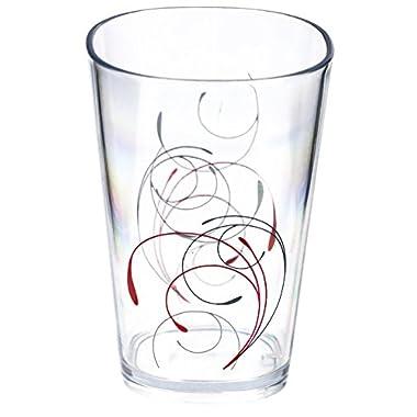 Corelle Coordinates Splendor Acrylic Juice Glass, 8-Ounce, Set of 6